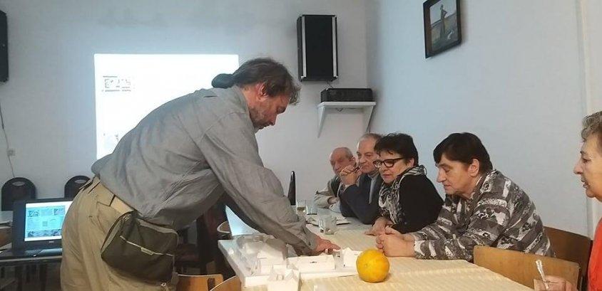 Alina Karolewicz o spotkaniu z profesorem Barkiem.