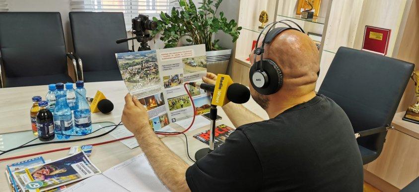 Nietypowa audycja z Drawska. Drawski ratusz stał się na chwilę studiem radiowym