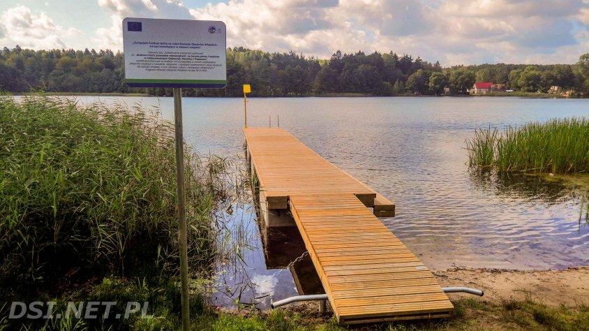 Nowe pomosty rekreacyjne w gminie Czaplinek