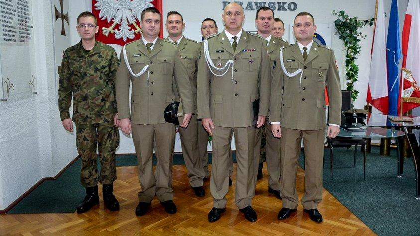 Odznaczenia dla żołnierzy CSWL Drawsko