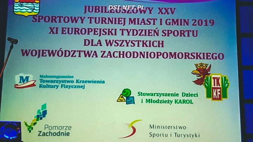 Sportowy Turniej Miast i Gmin: Kalisz i Drawsko kolejny raz nagrodzone