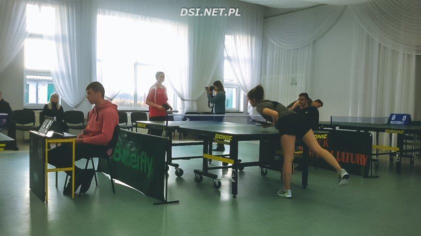 Tenisistki stołowe z Czaplinka najlepsze w ćwierćfinałach Licealiady