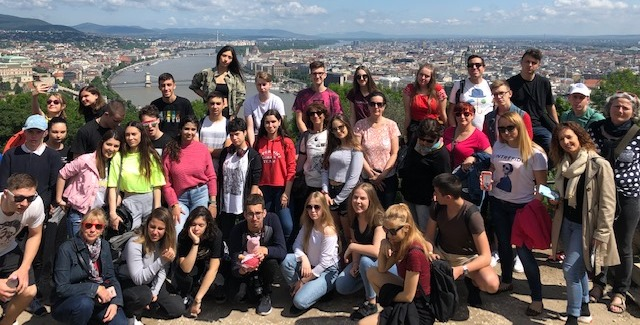 Uczniowie szkolili język podczas warsztatów na Węgrzech