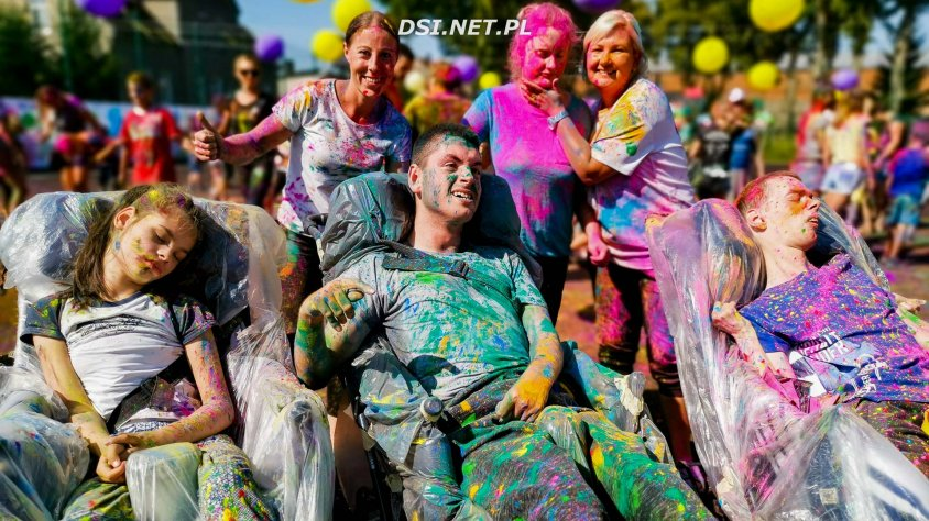 Święto Kolorów - wesołe zakończenie wakacji