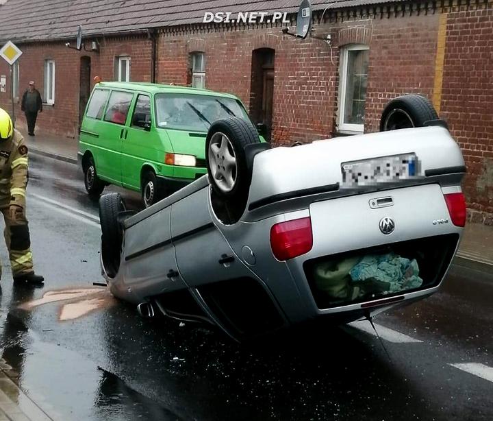 Wypadek w Siemczynie