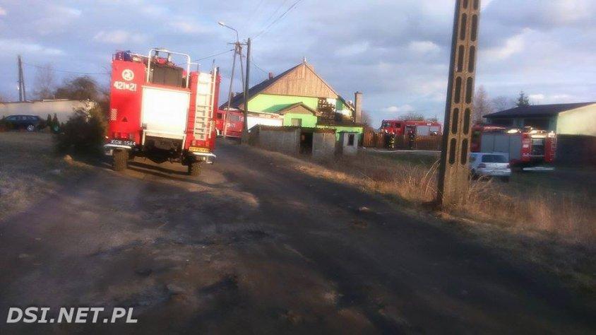 2016-03-20 W Żabinie spaliła się kotłowania