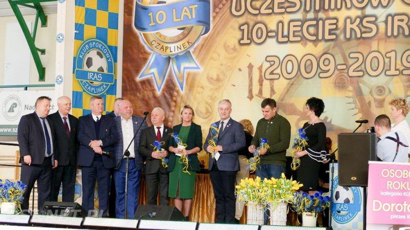 Klub Sportowy IRAS działa już 10 lat. Relacja z uroczystej Gali