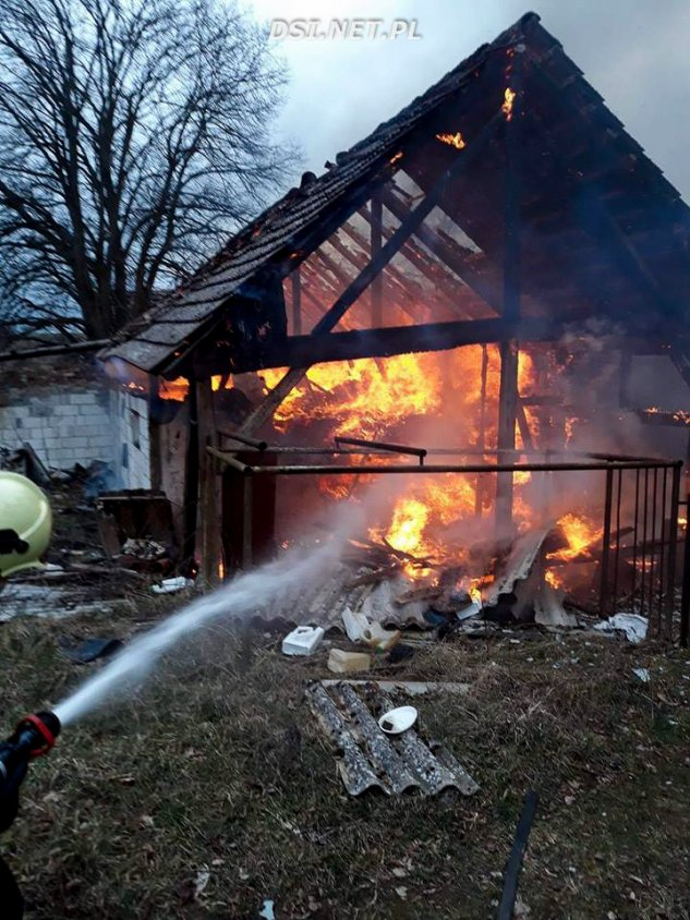 Sikory: Trzy pożary w tym samym miejscu.