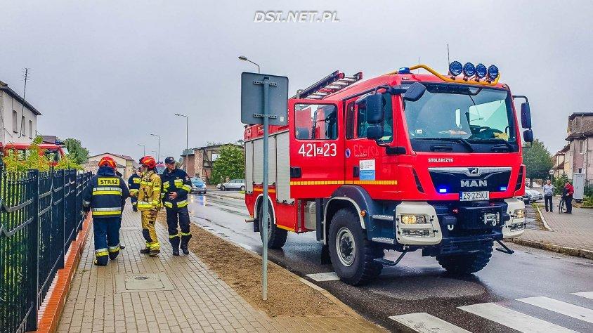 Pożar w ośrodku w Czaplinku postawił na nogi ratowników powiatu drawskiego.