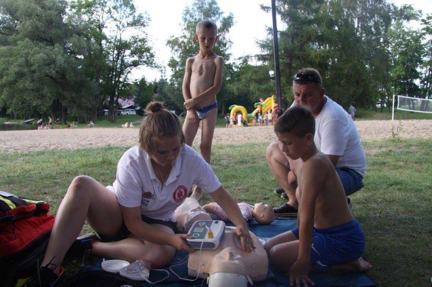 Lato na plaży w Czaplinku - relacja z rozpoczęcia