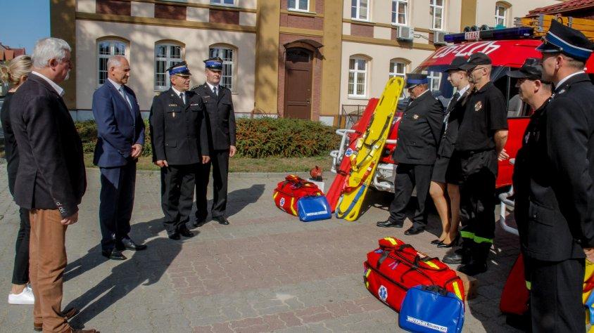 OSP gminie Drawsko Pomorskie otrzymało nowy sprzęt