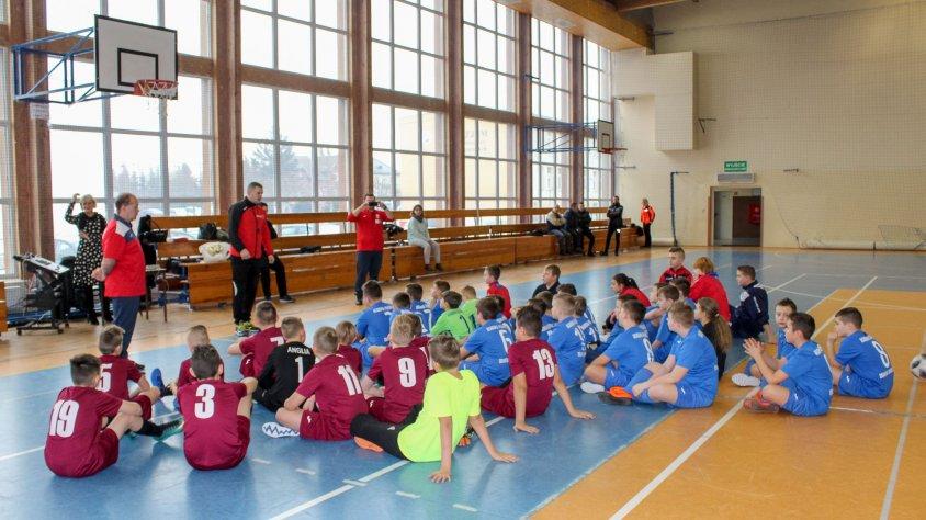 Orliki i Młodziki rozegrali turniej piłki nożnej