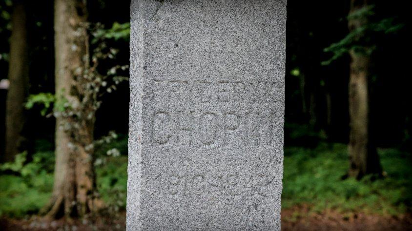 Odsłonięcie popiersia Fryderyka Chopina