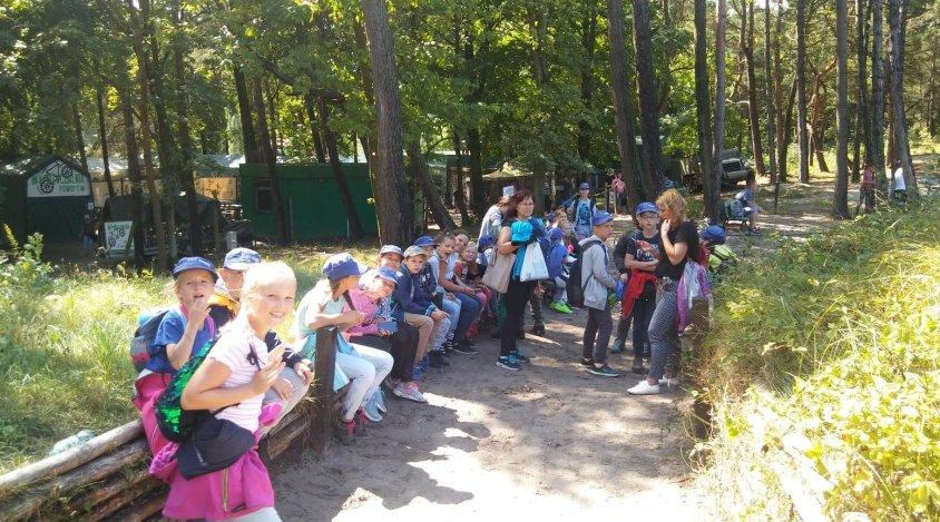 Dzieci z  gminy Drawsko Pomorskie bawiły się na kolonii w Darłowie
