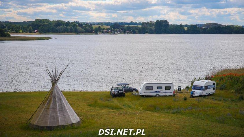 Camper Club w Lubie Resort. Prawdziwy CamperPark na Pojezierzu Drawskim