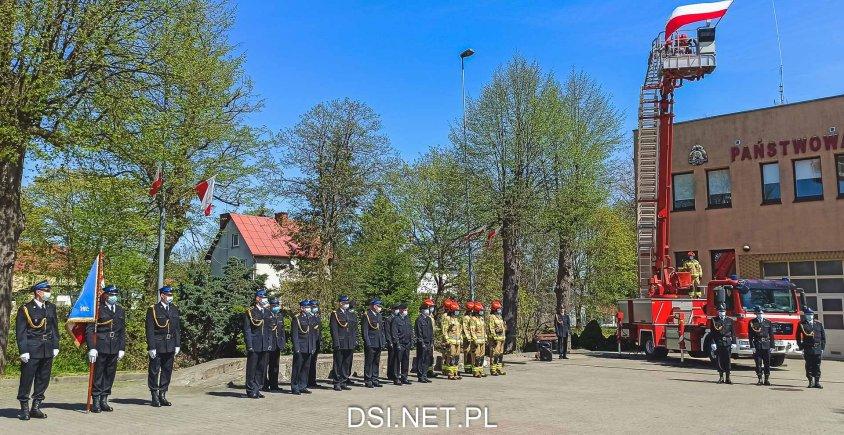 Uroczystość KP PSP w Drawsku Pomorskim