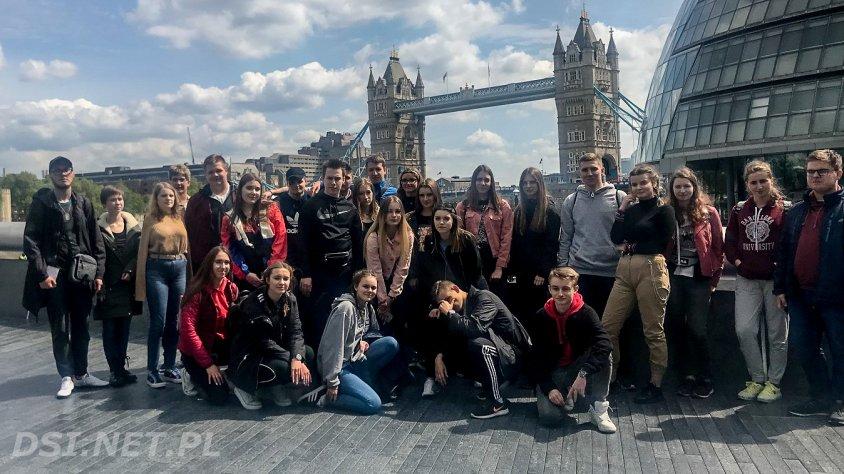 Klasa dwujęzyczna z Kalisza Pomorskiego w Londynie