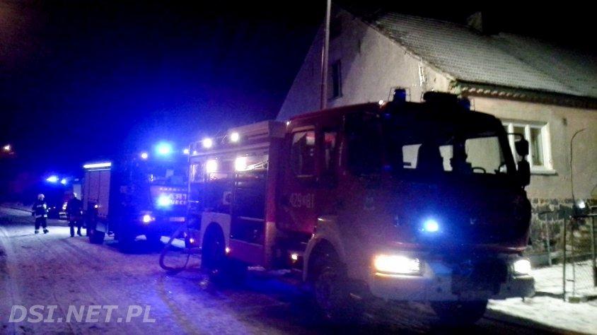 Pożar w Osieku Drawskim