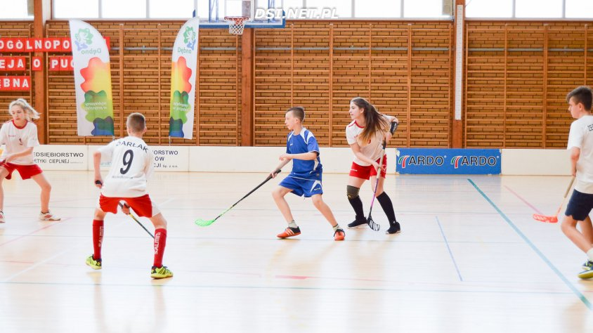 Uczniowie  Szkoły Podstawowej z Wierzchowa najlepsi w Ogólnopolskim Koedukacyjnym Turnieju Unihokeja w Dębnie