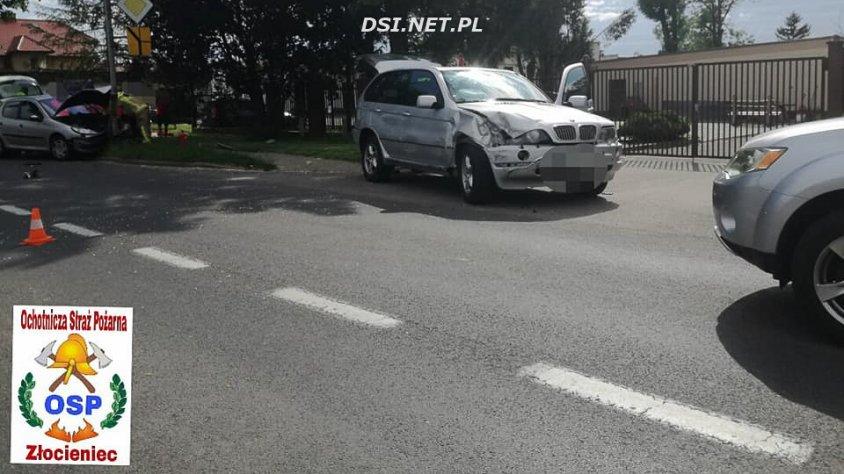 Wypadek na Połczyńskiej w Złocieńcu