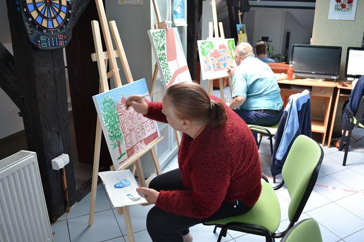 Słów kilka o projekcie w DPS w Darskowie - PIĘKNO WYOBRAŹNI