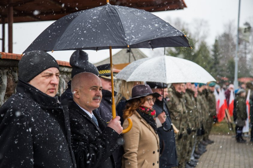 2020-02-29 Pożegnanie żołnierzy wysyłanych do Iraku