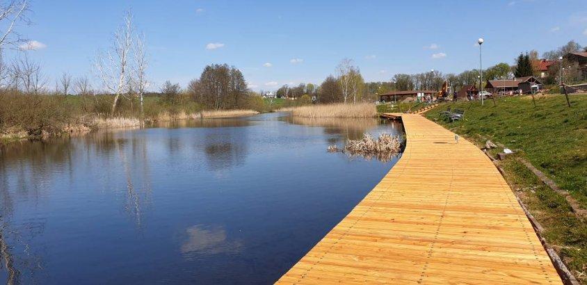 I etap prac nad rzeką Drawą zakończony. Zobaczcie jak wyglądają zmiany. Foto