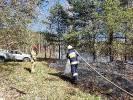 2020-04-12 Strażacy gasili pożary w okolicach Bolegorzyna, Nowego Worowa i Czarnego Wielkiego
