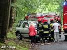 Wypadek na trasie między Mielenkiem a Gudowem
