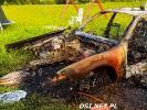 2020-06-04 W Cieszynie spłonął samochód. Zobaczcie ile z pojazdu zostało