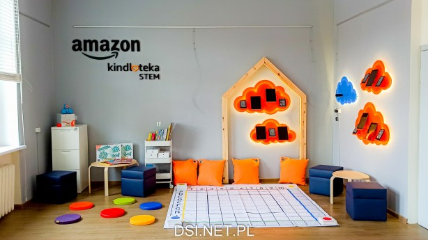 Amazon STEM Kindloteka w drawskiej bibliotece