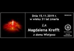 Ś.P. Magdalena Kreft z domu Wielgosz
