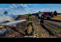 Pożary ściernisk – strażacy i tam muszą się napracować
