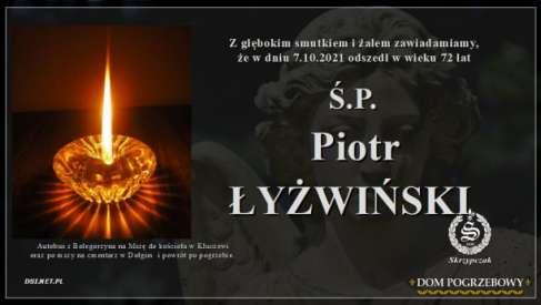 Ś.P.  Piotr Łyżwiński