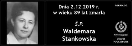 Ś.P. Waldemara Stankowska