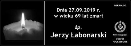 Ś.P. Jerzy Łabonarski