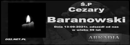 Ś.P. Cezary Baranowski