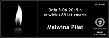 Ś.P. Malwina Piłat