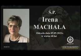 Ś.P. Irena Machała
