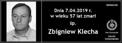 Ś.P Zbigniew Klecha