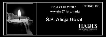 Ś.P. Alicja Góral