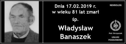 Ś.P. Władysław Banaszek
