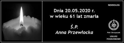 Ś.P. Anna Przewłocka