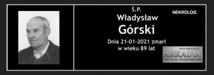 Ś.P. Władysław Górski