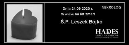 Ś.P. Leszek Bojko