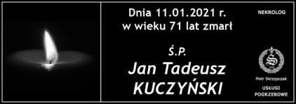 Ś.P. Jan Tadeusz Kuczyński