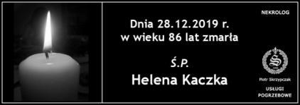 Ś.P. Helena Kaczka