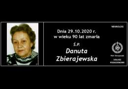 Ś.P. Danuta Zbierajewska