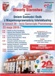 2019-05-23 Dzień Otwarty Starostwa i Dzień Godności Osób z Niepełnosprawnością Intelektualną