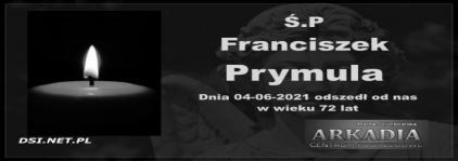 Ś.P. Franciszek Prymula